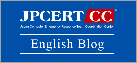 JPCERT/CC English Blog